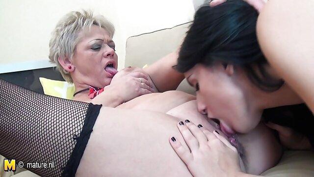 Puta sumisa recibe un tratamiento áspero abofeteada y videos xxx lesbianas español follada